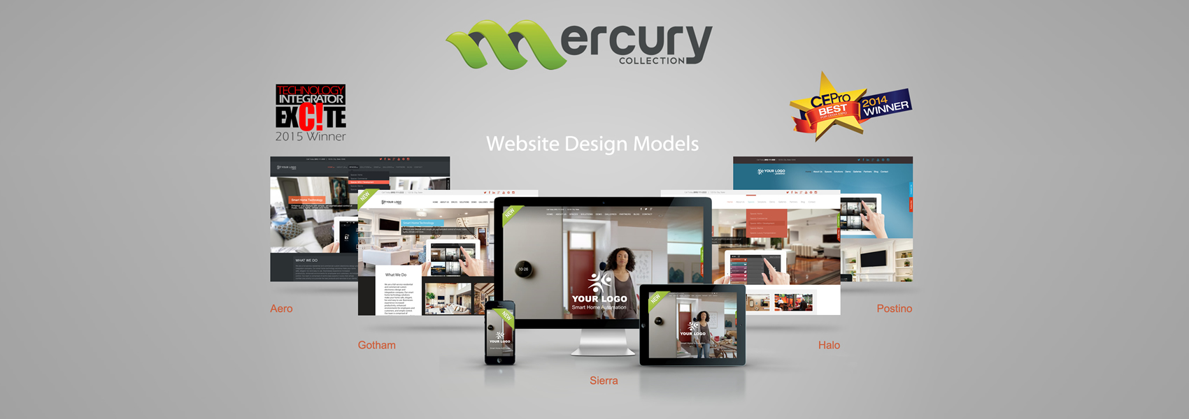 Mercury Design Models Showcase Five With Text Award
